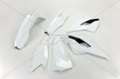 Kit plastiques UFO couleur origine blanc/noir Husqvarna 300 TE 2014 kit plastiques ufo