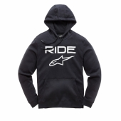 SWEAT ALPINESTARS OVERSHOT FLEECE HOODY CHARCOAL HEATHER 2018 sweatshirt