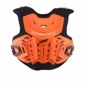 Pare-pierre MOTO CROSS ENFANT LEATT 2.5 orange/noir  protections kids