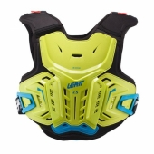Pare-pierre MOTO CROSS ENFANT LEATT 2.5 jaune fluo/bleu  protections kids