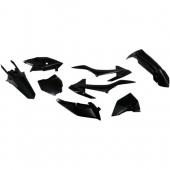 Kit plastiques UFO noir KTM 85 SX 2018 kit plastiques ufo
