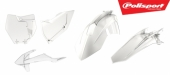 Kit plastiques POLISPORT transparent KTM 125 SX 2016-2018 plastique polisport