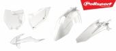Kit plastiques POLISPORT transparent KTM 250 SX 2016-2018 plastique polisport