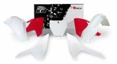 Kit plastique RACETECH blanc/rouge Husqvarna 125 TC 2016-2018 kit plastiques racetech