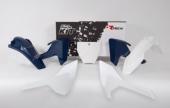 Kit plastiques RACETECH couleur origine 16 blanc Husqvarna 350 FC 2016-2018 kit plastiques racetech
