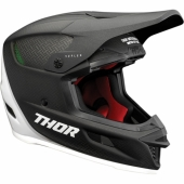 CASQUE CROSS THOR SECTOR NOIR MATT/BLANC casques
