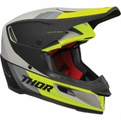CASQUE CROSS THOR SECTOR BLEU MATT/ROUGE casques