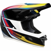 CASQUE CROSS THOR SECTOR NAVY MATT/JAUNE casques