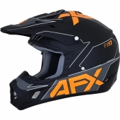 CASQUE CROSS AFX BLANC/ROUGE  FX-17 casques
