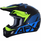 CASQUE CROSS AFX BLANC/GRIS FX-17 casques