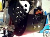 Sabot GP AXP PHD noir/bleu/jaune SUZUKI 250 RM-Z 2016-2017 sabots axp
