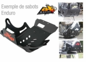 Sabot enduro AXP PHD noir HUSQVARNA 300 TE 2014-2016 sabots axp