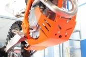 Sabot enduro AXP Xtrem PHD orange KTM 250 SX-F 2016-2018 sabots axp