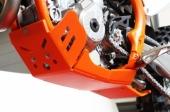 Sabot enduro AXP Xtrem PHD orange KTM 350 SX-F 2016-2018 sabots axp