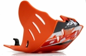 Sabot enduro AXP PHD orange KTM 350 EXC-F 2017-2018
