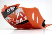 Sabot enduro AXP PHD orange KTM 250 EXC-F 2017-2018 sabots axp