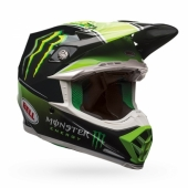 Casque CROSS BELL Moto-9 MIPS Tomac Replica 17.2 Gloss casques