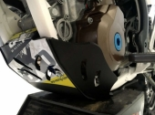 Sabot enduro AXP PHD noir HUSQVARNA 250 FE 2017-2018 sabots axp