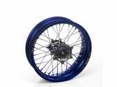 Roue arrière complète HAAN WHEELS 19x1,85 jante bleu/moyeu alu Yamaha 125 YZ  1999-2018 roues completes