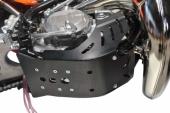 Sabot enduro AXP PHD noir KTM 250 EX-C 2017-2018 sabots axp