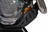 Sabot enduro AXP PHD 6mm noir KTM 250 EXC-F 2017-2018 sabots axp