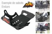 Sabot enduro AXP PHD noir KTM 350 EXC-F 2011-2016 sabots axp