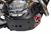 Sabot enduro AXP PHD 6mm noir KTM 350 EXC-F 2017-2018 sabots axp