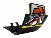 Semelle MX AXP Anaheim PHD noir/déco bleu-jaune Husqvarna 450 FC 2016-2018 sabots axp