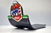 Semelle MX AXP Anaheim PHD noir/déco vert Kawasaki 450 KX-F 2016-2018 sabots axp