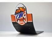 Semelle MX AXP Anaheim PHD noir/déco orange KTM 125 SX  2016-2018 sabots axp