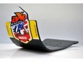 Semelle MX AXP Anaheim PHD noir/déco jaune Suzuki 250 RM-Z 2016-2018 sabots axp