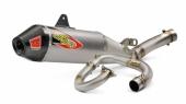 Ligne Complète PRO CIRCUIT T-6 inox silencieux alu/casquette carbone Yamaha 450 YZ-F 2018 echappements