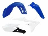 Kit plastiques RACETECH couleur origine bleu/blanc/noir YAMAHA 450 WR-F 2016-2018 kit plastiques racetech