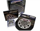 Kit chaîne RENTHAL 520 type R1 14/50 (couronne Ultralight™ anti-boue)  HUSQVARNA 350 FC 2014-2018 kit chaine