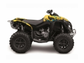 Kit déco KUTVEK Rotor jaune CAN-AM  Renegade 2008-2017 kit deco quad et ssv