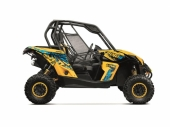 Kit déco KUTVEK Rotor jaune CAN-AM Maverick 2013-2017 kit deco quad et ssv