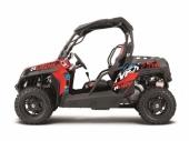 Kit déco KUTVEK Rotor rouge CFMoto Z-Force 2013-2017 kit deco quad et ssv