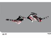 Kit déco KUTVEK Rotor noir Polaris Sportsman 850/1000 TRG 2011-2016 kit deco quad et ssv