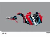Kit déco KUTVEK Rotor rouge Polaris RZR 800 2008-2014 kit deco quad et ssv
