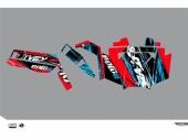Kit déco KUTVEK Rotor rouge Polaris RZR 900 S 2012-2014 kit deco quad et ssv