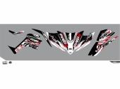 Kit déco KUTVEK Rotor noir Kymco Maxxer 450 TOUTES kit deco quad et ssv