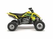 Kit déco KUTVEK Rotor jaune SUZUKI  LT-Z400 2009-2017 kit deco quad et ssv