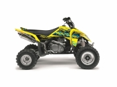 Kit déco KUTVEK Rotor jaune SUZUKI  LT-R450 2006-2012 kit deco quad et ssv
