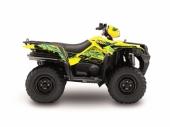 Kit déco KUTVEK Rotor jaune SUZUKI  King Quad 2007-2017 kit deco quad et ssv