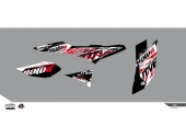 Kit déco KUTVEK Rotor noir TGB Target TOUTES kit deco quad et ssv