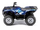 Kit déco KUTVEK Rotor bleu YAMAHA Grizzly 550/700 2007-2015 kit deco quad et ssv