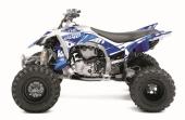 Kit déco KUTVEK Rotor bleu Yamaha Grizzly 700 2016 kit deco quad et ssv