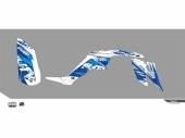 Kit déco KUTVEK Rotor bleu YAMAHA  Raptor 350 2003-2014 kit deco quad et ssv