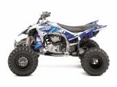 Kit déco KUTVEK Rotor bleu YAMAHA  YFZ 450 2004-2014 kit deco quad et ssv