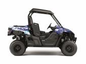 Kit déco KUTVEK Rotor bleu YAMAHA  Wolverine 2015-2017 kit deco quad et ssv